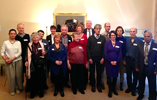 Group photograph of authors contributing to Connected Perspectives – The Alexander Technique in Context published by Hite
